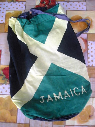 Sacca jeans jamaica flag
