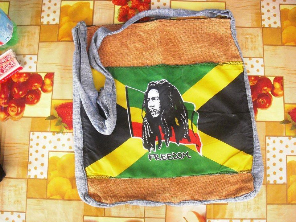 Maxiborsa in juta Bob Marley
