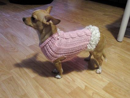 """cappottino per cagnolini """"volant"""""""