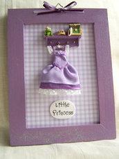 Quadretto Little Princess