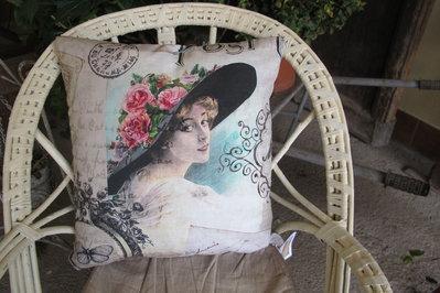 cuscino imbottito vintage