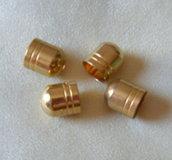 coppette ,copriperla ,terminali colore oro  13 x 15 mm
