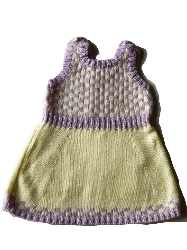 scamiciato e golf in lana per bambina
