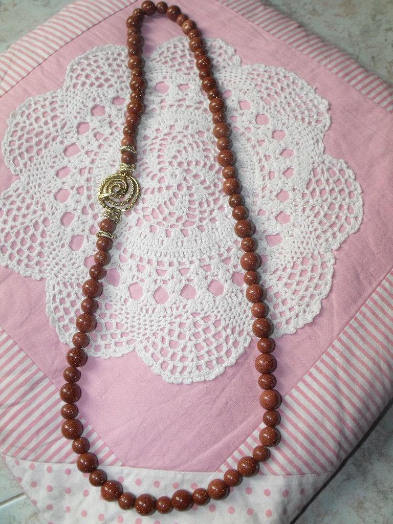 Collana di pietra di sole - Gioielli - Collane - di Le gioie di ...