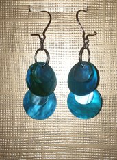 orecchini blue sea