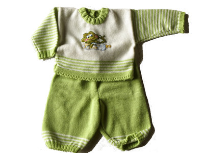 completino bambino/a (maglioncino con pantalone