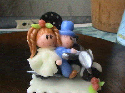 cake topper pasta di mais