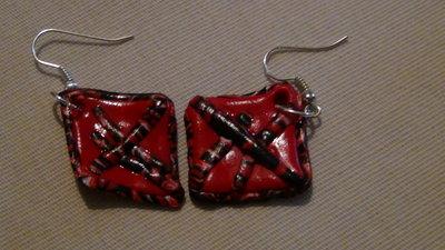 orecchini pentagono