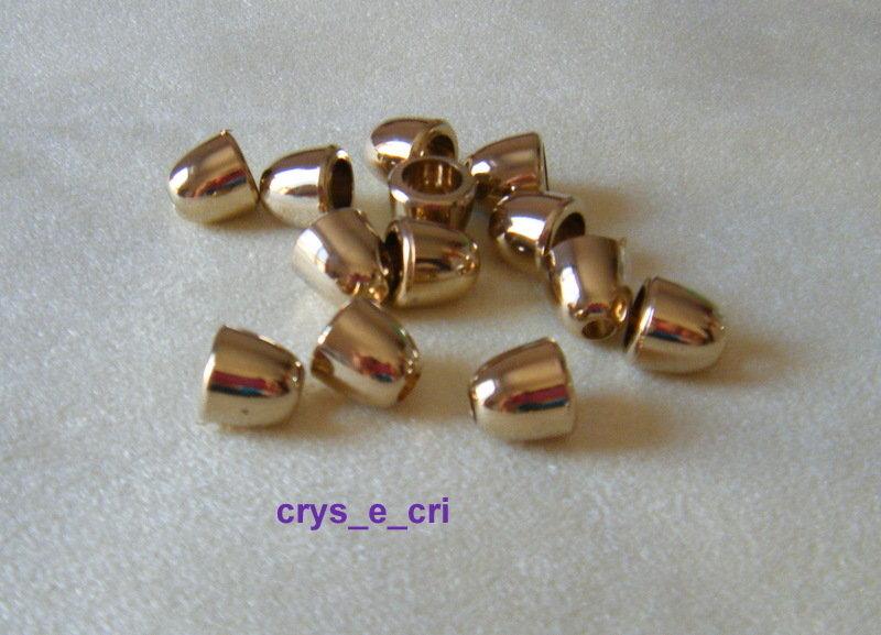 coppette ,copriperla,terminali   10 x 10 mm