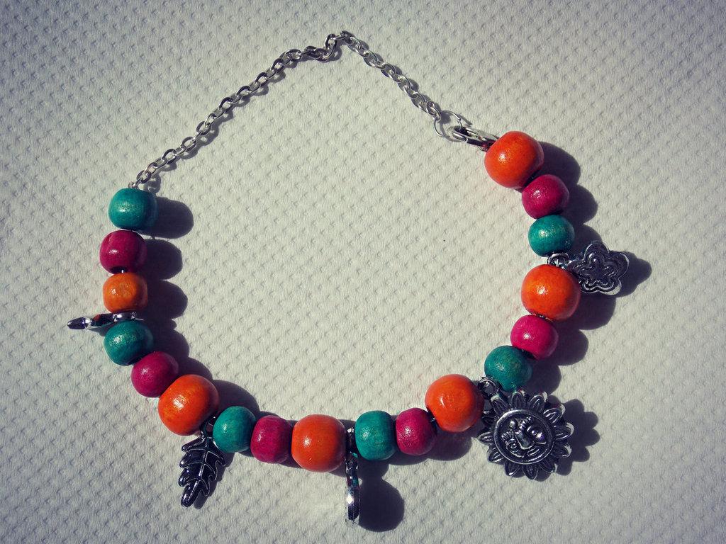braccialetto multicolor