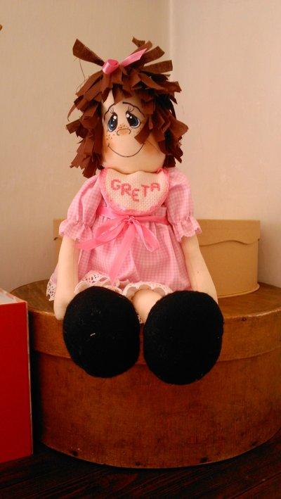 La bambolina Greta.