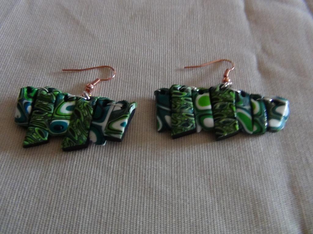 orecchini verde 1