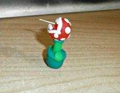orecchini pianta piranha di mario