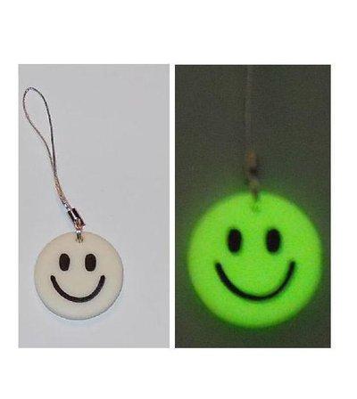 SMILE Fosforescente - Charmes per cellulare con SMILE fosforescente di pasta fimo