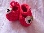 Scarpine Bimba Uncinetto Crochet