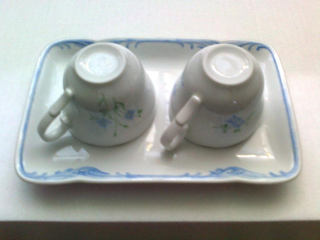 Set caffe'x 2