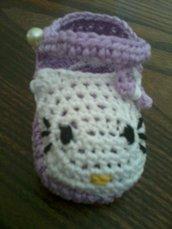 scarpine neonata Hallo Kitty