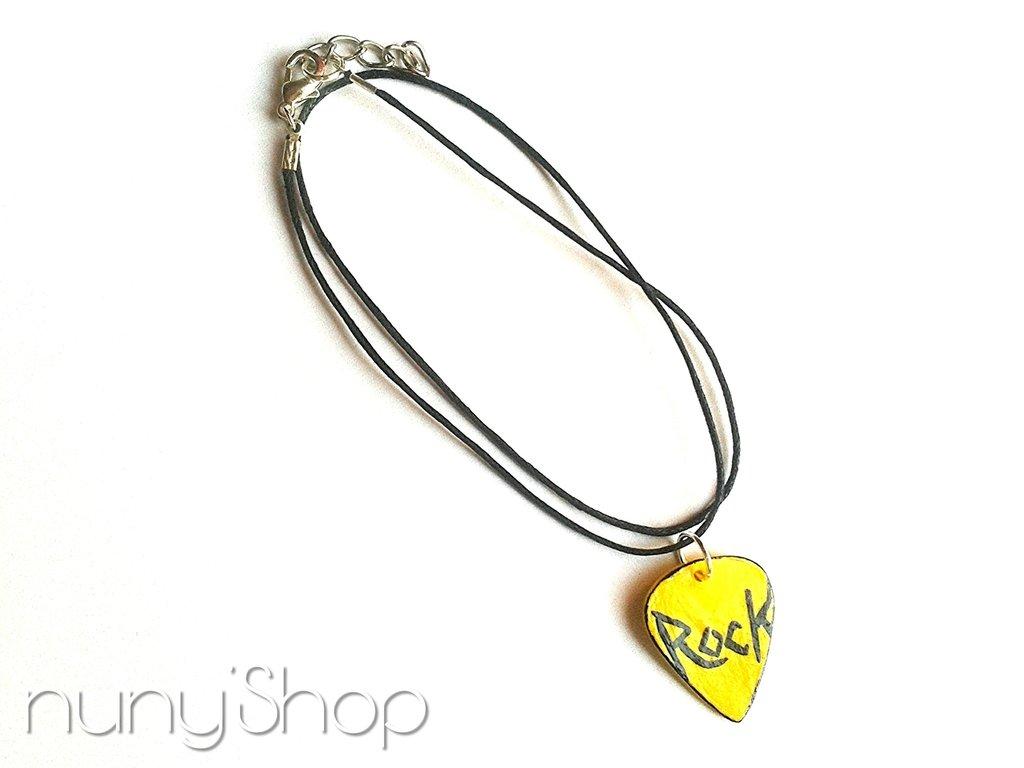 Collana Plettro - Let's Rock! - 03