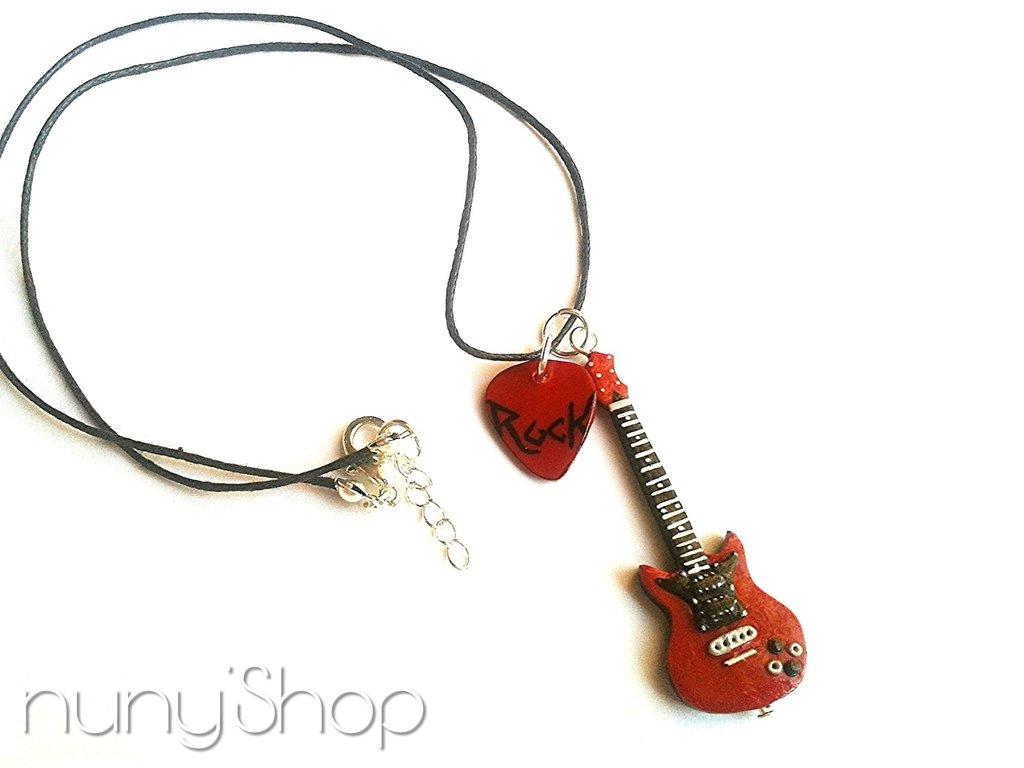 Collana Chitarra elettrica - Let's Rock! - 06