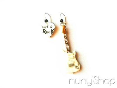 Orecchini Chitarra elettrica - Let's Rock! - 01