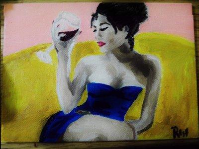 Pittura ad olio su cartone telato 13x18 cm