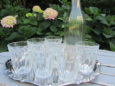 Bicchieri vintage francesi
