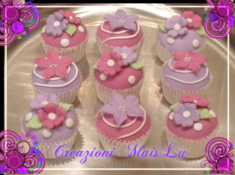 Mini Cupcake in pasta di mais