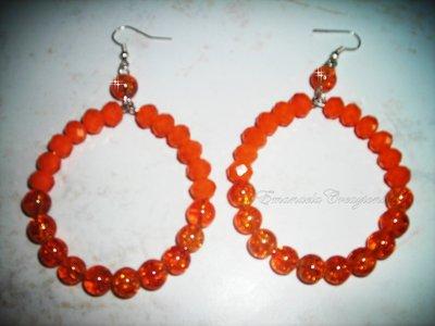 Orecchini arancioni