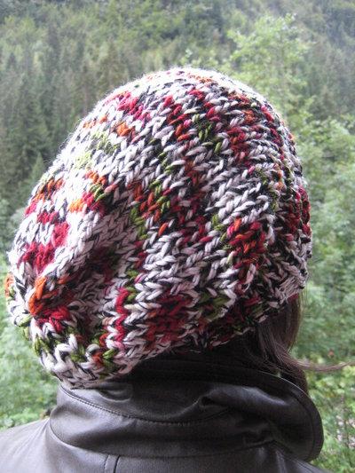 Cappello in lana colori melange modello unisex