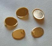 base per orecchini 18 x 22 mm