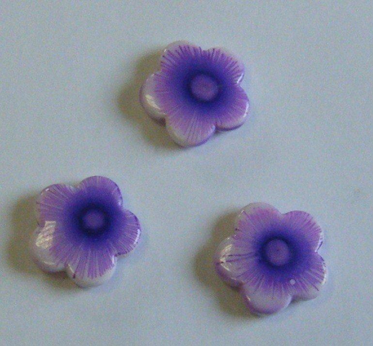 componenti    fiore  in resina