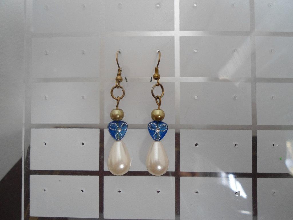 """orecchini """"Blue Pearl"""""""