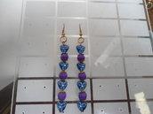 """orecchini """"Purple Blue"""""""