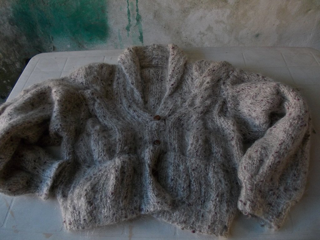 Giacca in mohair