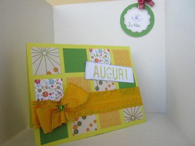 card yellow summer