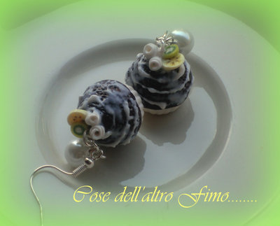 Cupcake Cioccolato Gnam Gnam Banana e kiwi