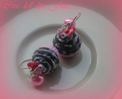 Cupcake Cioccolato Gnam Gnam Fragola e Fragoline di bosco