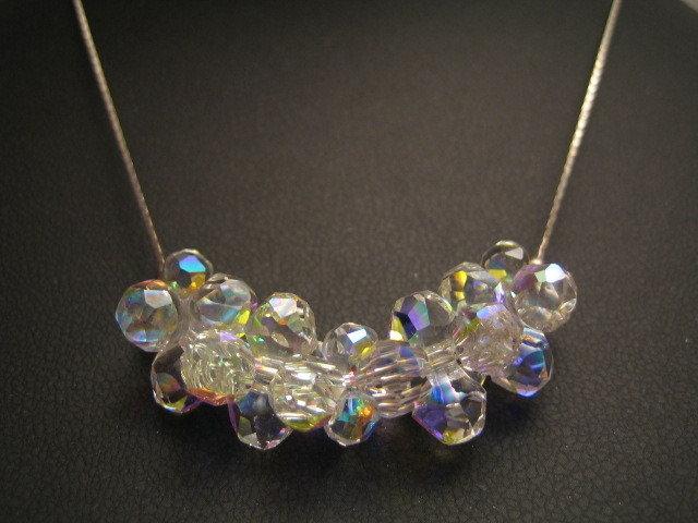 """""""Modular"""" - Girocollo in cristallo Swarovski ed argento 925"""