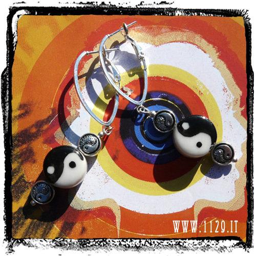 orecchini earrings tao ying yiang