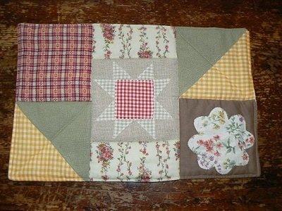 Centrotavola in patchwork
