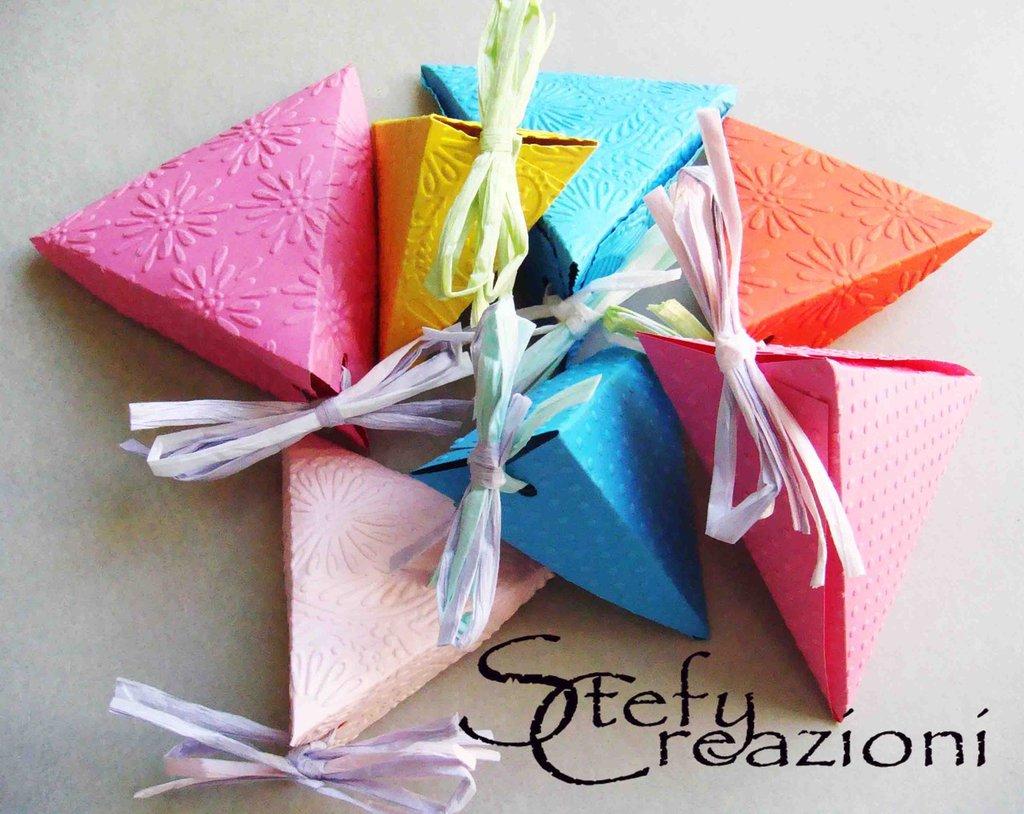 Famoso Scatoline Porta Confetti - Feste - Bomboniere - di Stefy Creazioni  GY35
