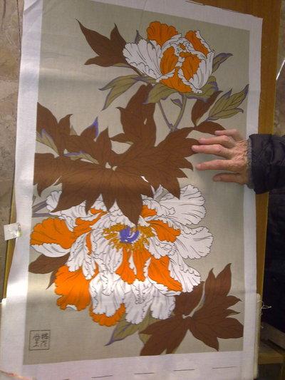 Strofinaccio asciugapiatti strofinacci fantasia stampe pop retro fiori giappone vintage