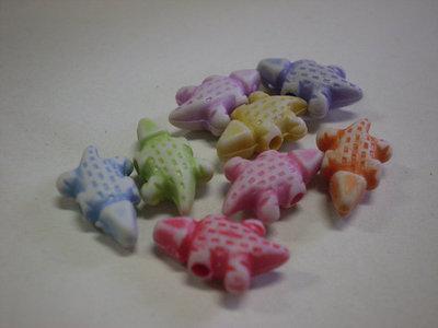 80 Perline Coccodrillo in acrilico