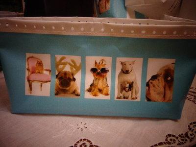 Fondo PVC cani