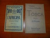 Libretti d'opera originali anni '20-'30 da collezione - lotto di 8 pezzi (venduti anche separatamente)