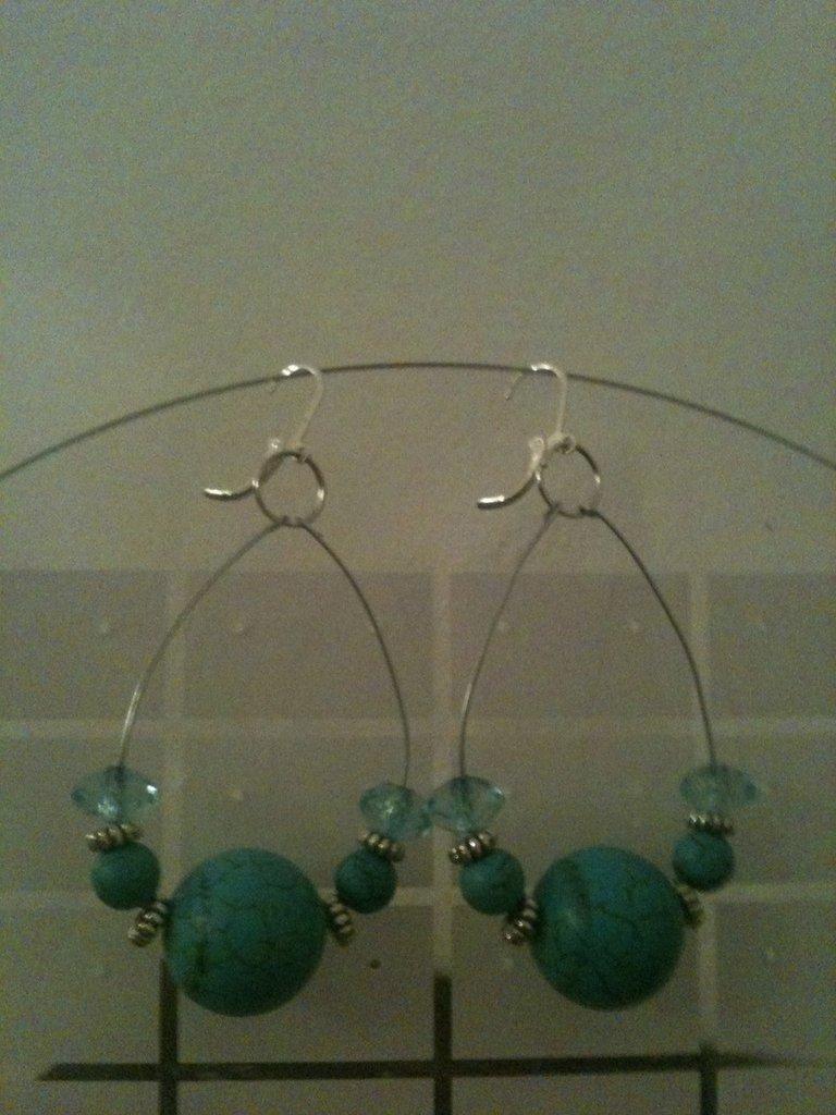 """orecchini """"Blue As Sea"""""""