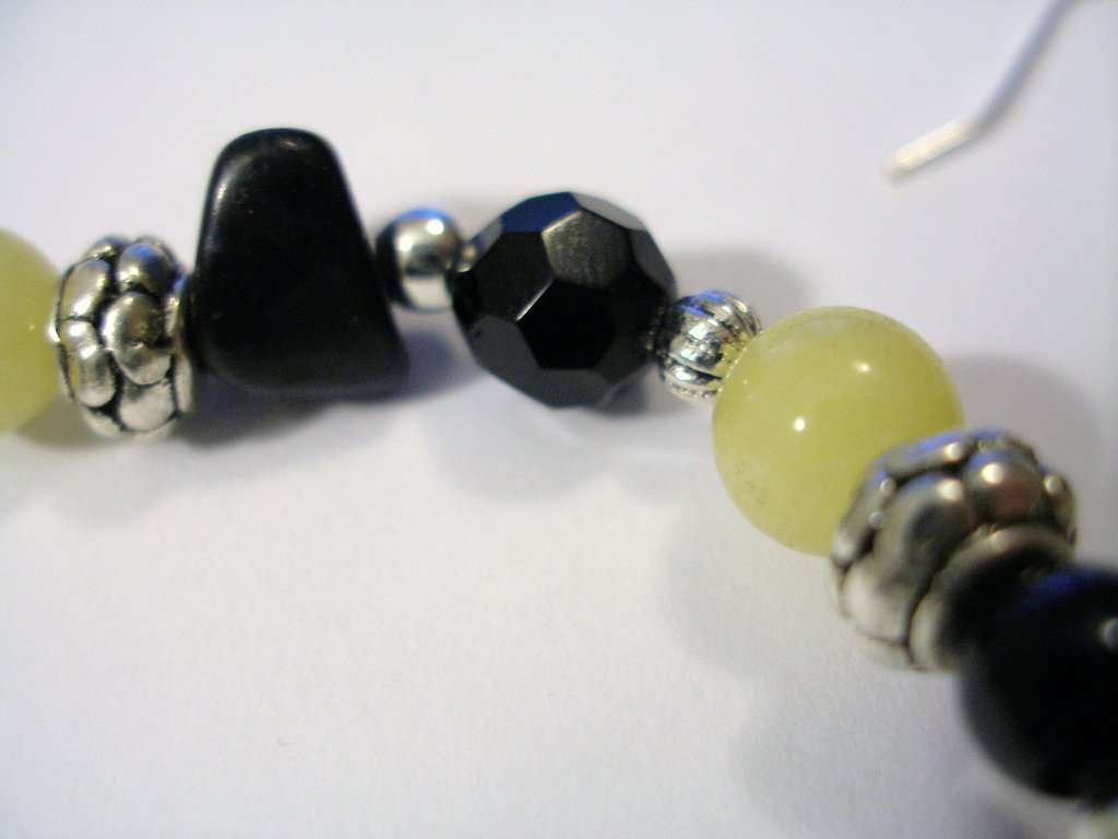 "Bracciale ""Black&Yellow"""