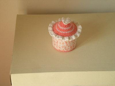 Scatolina portagioie di cotone