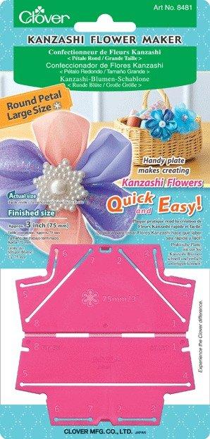 Attrezzo per fiori Kanzashi Petali rotondi grande