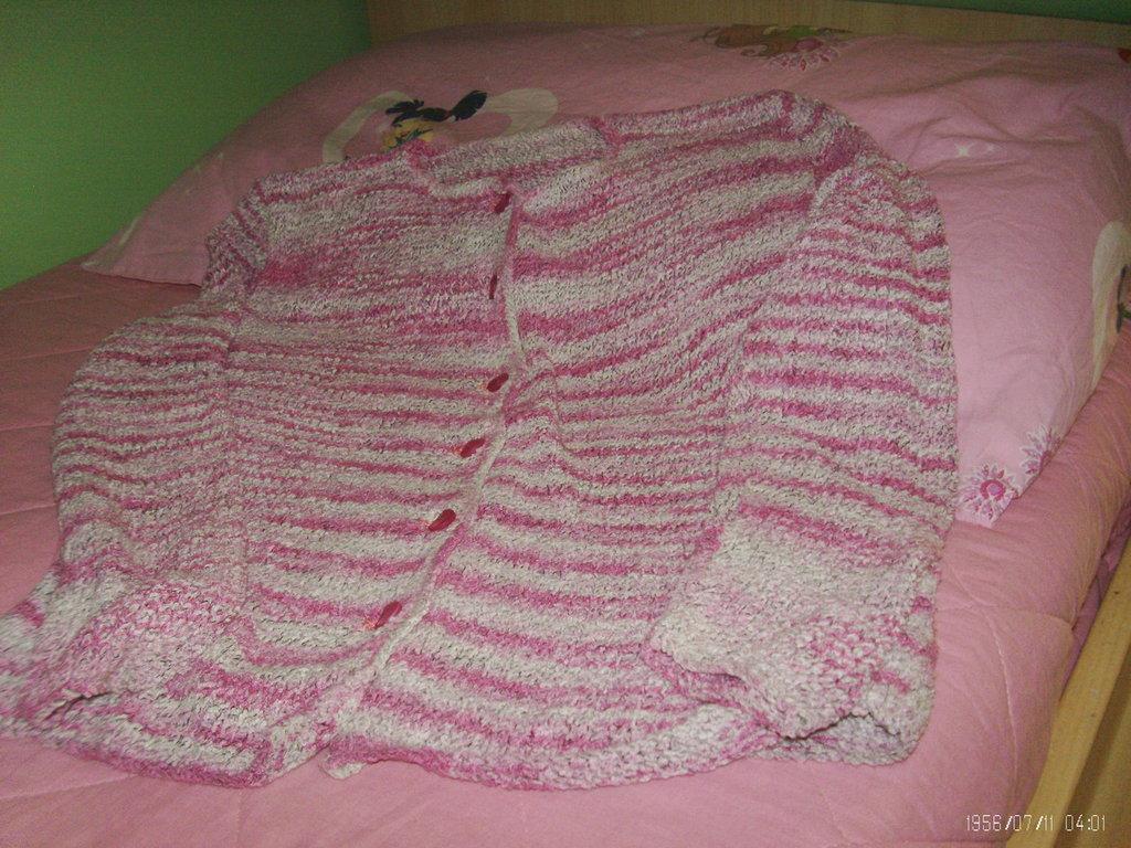 giacchino donna di cotone bouclè tg 42/44